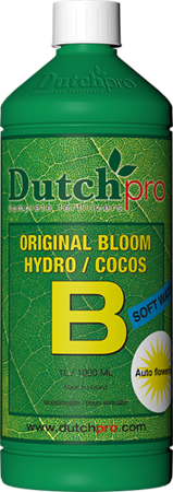Auto Flowering Bloom Hydro/Coco A+B woda miękka 5l