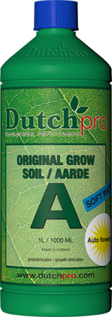 Auto Flowering Grow Soil A+B woda miękka 5l