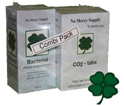 Combi-Pack (CO2 60szt. + Bacterial 50ml)