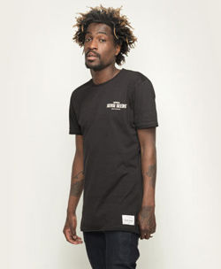 Urban Long Tee Black