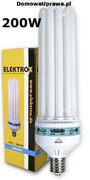 ELEKTROX CFL 200W Grow