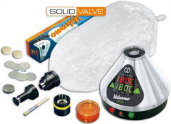 VOLCANO Digital Vap. + Solid Valve Set